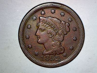 Lot Of Six Large Cents:1852,1851,1853,1833,1816+1838