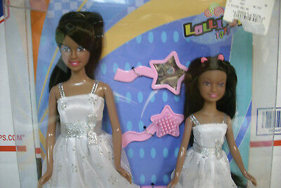nip LUCY SISTERS doll lot barbie clone clothes lollipop AA african american