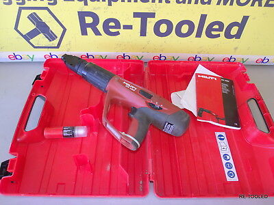 Hilti DX 460 Powder Actuated Tool With X-460-F8 ATTACHMENT & CASE #TOOLS DX460