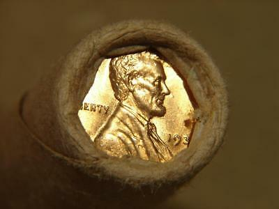 Old Unsearched Lincoln Wheat Cent Penny Roll Of 50 Coins BU 1939 And 1925-S Ends