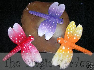 Cute dragonfly insect plaster cement craft latex moulds molds
