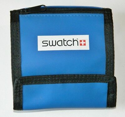 Swatch TRI-FOLD WALLET with logo and is water resistant