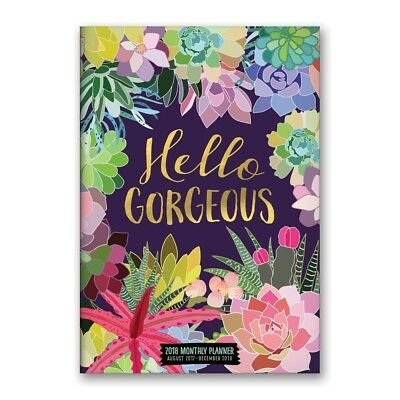 2018 Hello Gorgeous Pocket Planner,  Weekly Planners by Orange Circle Studio Cor