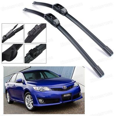 "Car Windshield Wiper Blade Bracketless 26"" 18"" for Toyota Camry Aurion 2012-2017"