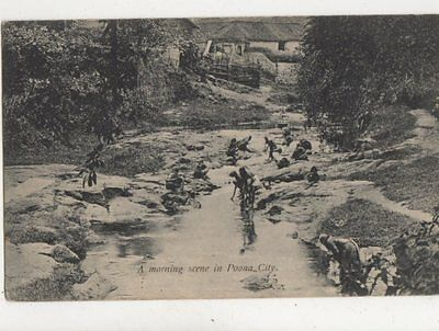View From The North West Hill Amber Jeypore India Vintage Postcard 835a