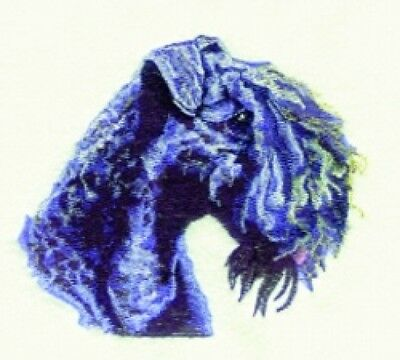Embroidered Ladies Fleece Jacket - Kerry Blue Terrier BT3603  Sizes S - XXL
