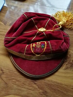 "BRITISH ISLES RUGBY LEAGUE PLAYERS CAP PRESENTED TO DEREK ""ROCKY"" TURNER 1960's"
