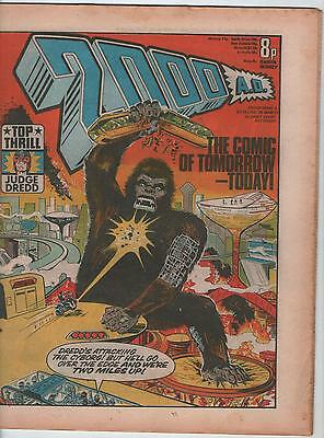 2000AD PROGRAMME # 5 - JUDGE DREDD, DAN DARE, INVASION, FLESH (26th MARCH 1977 )