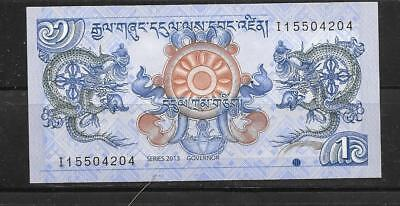 Bhutan 2013 Unc Mint New Ngultrum Currency Banknote Bill Note Paper Money