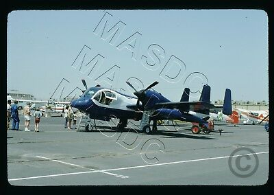 35mm Kodachrome Aircraft Slide - OV-1C Mohawk N6744 US CUSTOMS @ LGB - Aug 1975