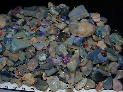 Large 1838cts Lightning Ridge Opal Rough Parcel Seam/Fossil/Nobby/Crystal NR
