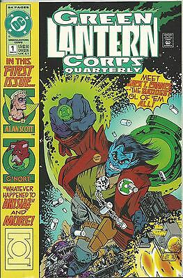 Green Lantern Corps Quarterly #1 (Dc) (1992) 64 Pages