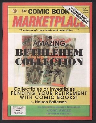 Comic Book Marketplace Magazine #7 NM- 9.2 Bethlehem Collection CBM