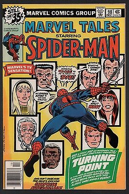 Marvel Tales #98 VF 8.0 White Pages Reprint Spider-Man 121 Death of Gwen Stacy