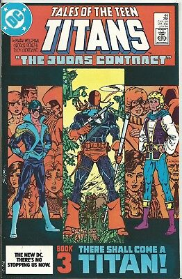 Tales Of The Teen Titans #44 (Dc) 1984 (1St Appearance Of Nightwing) Vf/nm