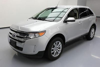 2014 Ford Edge Limited Sport Utility 4-Door 2014 FORD EDGE LTD HEATED LEATHER REARVIEW CAM 43K MI #A50720 Texas Direct Auto