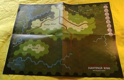 Shield Wall 1066 - map - paper and Canvas versions