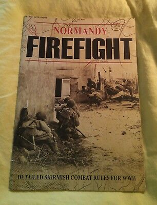 Normandy Firefight Fast-play tabletop wargames rules by Warwick Kinrade