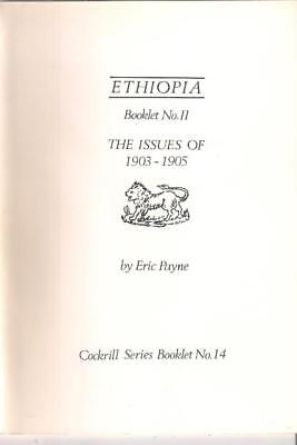 Book ETHIOPIA The Issues of 1903 - 1905 by Eric Payne - Cockrill Series No. 13