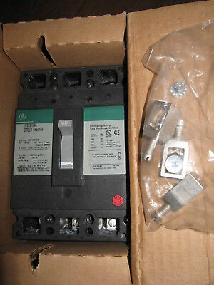 NEW GE General Electric TED136060WL Circuit Breaker 60 Amp 3 Pole 600 Volt
