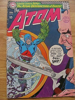 The Atom #24 (1966) The Atom - Destruction of Earth