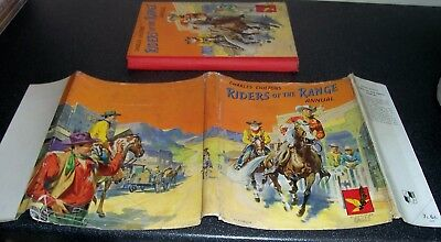 Vintage Charles Chilton's RIDERS OF THE RANGE ANNUAL 1955 (Eagle Comic) d/w G/VG