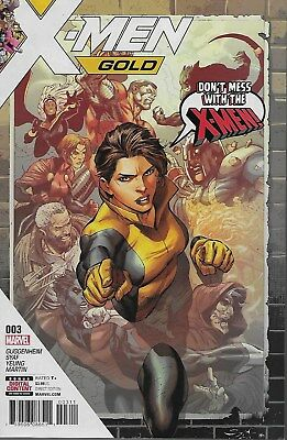 X-Men Gold No.3 / 2017 Marc Guggenheim & Ardian Syaf