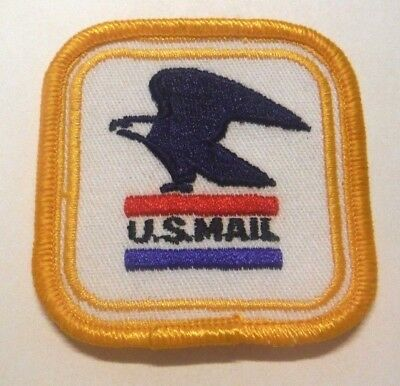 "Old Obsolete Us Mail 2.5"" Patch Unused"