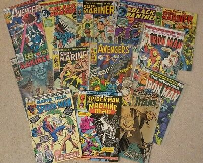 60's and 70's Comic Book Collection Silver and Bronze Age Spider-Man and more!
