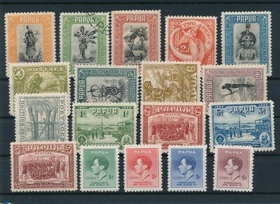[85506] Papua good lot Very Fine MH/Used stamps