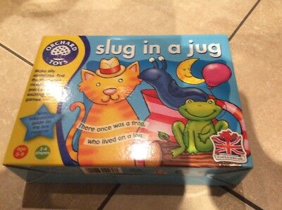 BNIB Orchard Toys Slug in a Jug educational toy aged 5/9 years & 2/4 players