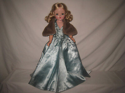 "1956 Mme Alexander Evening Gown W/Cape for 20"" Cissy Doll *CLOTHING ONLY*  MJ33"