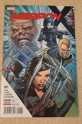 Weapon X (2017) 1st Print Brand New