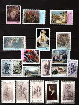 (X294) Albania Shqiperia  Selection All  Mnh  As Scan Much More Listed 2 Scans