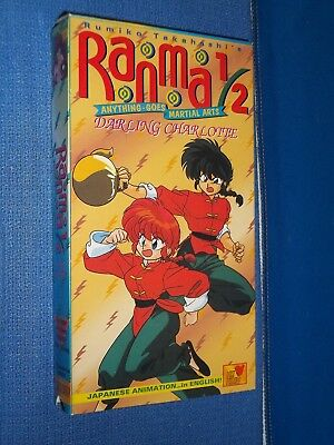 Ranma 1/2 Darling Charlotte VHS Video dubbed anime