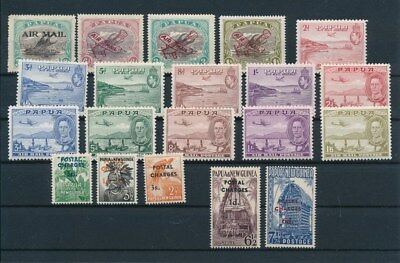 [G85132] Papua & New Guinea good lot Very Fine MH stamps