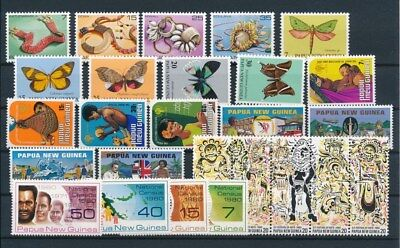 [G85142] Papua New Guinea good lot Very Fine MNH stamps