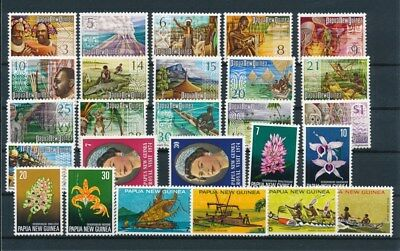 [G85146] Papua New Guinea good lot Very Fine MNH stamps
