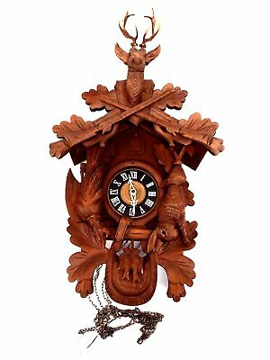 WOODEN HAND CARVED Cuckoo Clock - H15