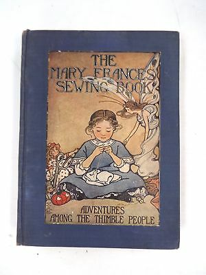 Vintage MARY FRANCES SEWING Hardback BOOK With Paper Sewing Templates - S19