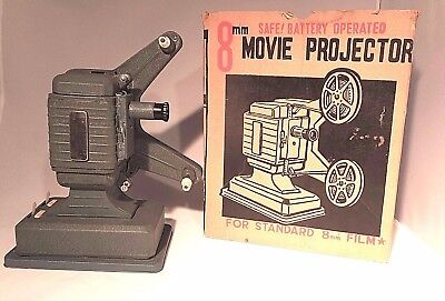 Vintage Battery Operated Projector 8 mm Japan