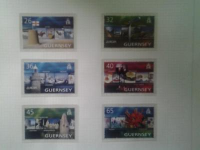 (C571)  Guernsey 2004  HOLIDAYS  SET OF 6 MNH COLLECT OR POSTAGE