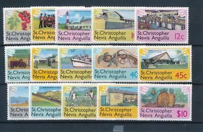 [102803] St Christopher Nevis Anguilla 1978 Good set Very Fine MNH stamps