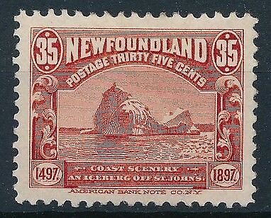 [33241] Newfoundland 1897 Good stamp Very Fine MH