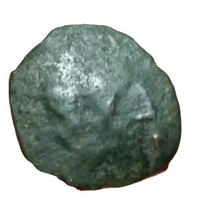 Unidentified Roman Byzantine  Trachy  Coin. Very rare this type .