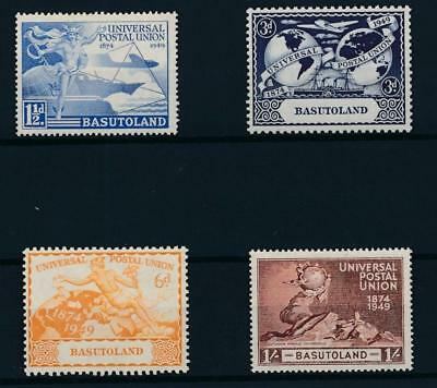 [33601] Basutoland 1949 UPU Good set Very Fine MNH stamps