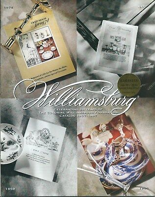 Colonial Williamsburg 1997 Vintage Gift Selections Catalog.