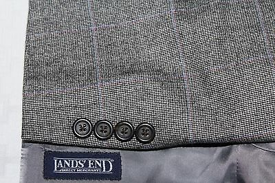 LANDS' END 42R Made in Portugal Wool Rabbit Hair Cashmere Sport Jacket