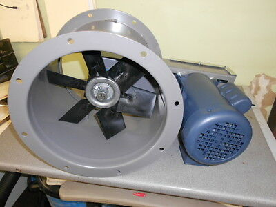 "12"" Dia Tube Axial Exhaust Fan For Paint Spray Booth"