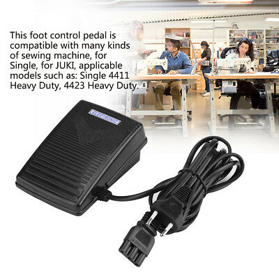 Practical Home Electronic Sewing Machine Foot Control Pedal With Cord 200-240V